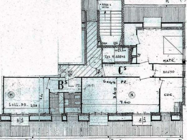 Appartamento in affitto a Milano, Loreto / Piola / Viale Gran Sasso, 100 mq - Foto 15