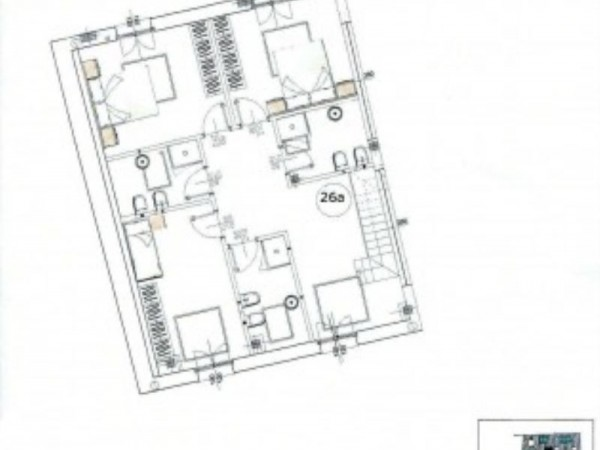 Appartamento in vendita a Monza, San Biagio, 115 mq - Foto 5