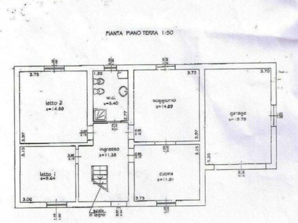 Casa indipendente in vendita a Forlì, San Lorenzo In Noceto, Con giardino, 110 mq - Foto 2