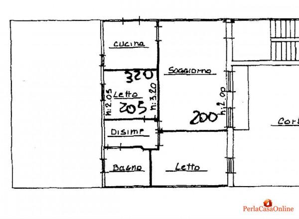 Appartamento in vendita a Meldola, Centro Storico, Con giardino, 80 mq - Foto 17