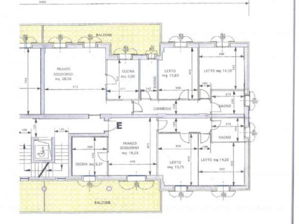 Appartamento in vendita a Maranello, Centrale, Con giardino, 130 mq - Foto 5