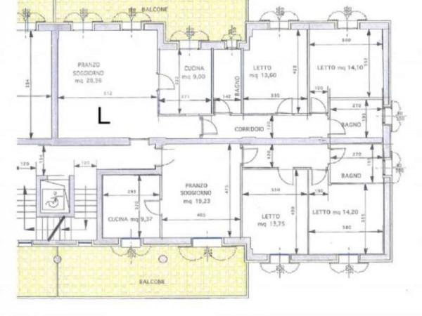Appartamento in vendita a Maranello, Centrale, Con giardino, 130 mq - Foto 3