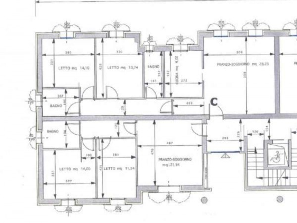 Appartamento in vendita a Maranello, Centrale, Con giardino, 130 mq - Foto 6