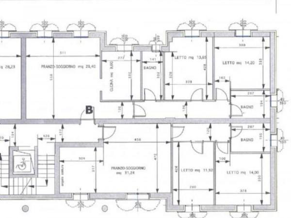 Appartamento in vendita a Maranello, Centrale, Con giardino, 130 mq - Foto 7