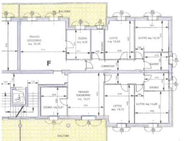 Appartamento in vendita a Maranello, Centrale, Con giardino, 130 mq - Foto 4