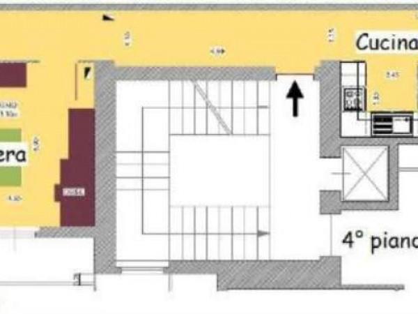 Appartamento in vendita a Milano, Cadorna, 100 mq - Foto 22
