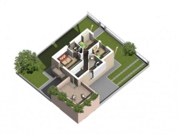 Villa in vendita a Melegnano, Residenziale A 15 Minuti Da Melegnano, Con giardino, 300 mq - Foto 16