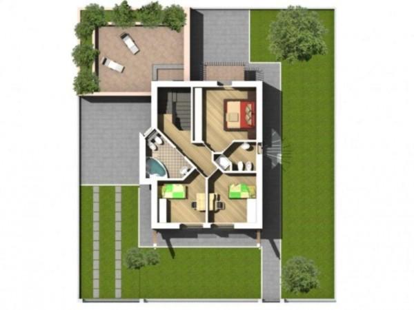 Villa in vendita a Melegnano, Residenziale A 15 Minuti Da Melegnano, Con giardino, 300 mq - Foto 17