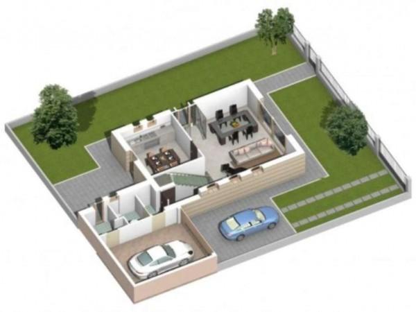 Villa in vendita a Sant'Angelo Lodigiano, Zona Residenziale A Pochi Km Da Sant'angelo, Con giardino, 300 mq - Foto 18