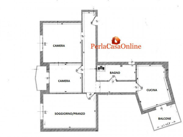 Appartamento in vendita a Forlì, Cà Ossi, Con giardino, 90 mq - Foto 2