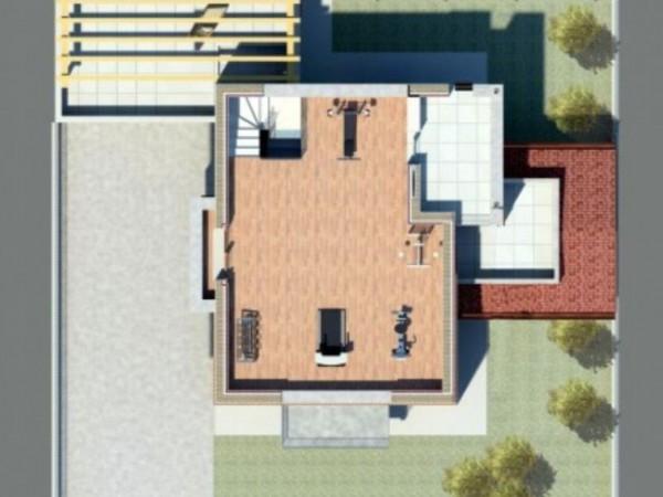 Villa in vendita a Borghetto Lodigiano, Nuova Zona Residenziale, Con giardino, 200 mq - Foto 5