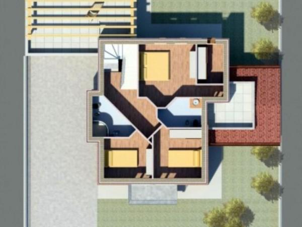 Villa in vendita a Borghetto Lodigiano, Nuova Zona Residenziale, Con giardino, 200 mq - Foto 6