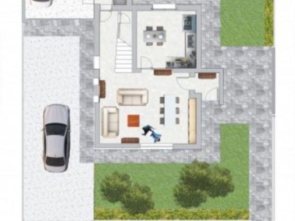 Villa in vendita a Borghetto Lodigiano, Nuova Zona Residenziale, Con giardino, 200 mq - Foto 4