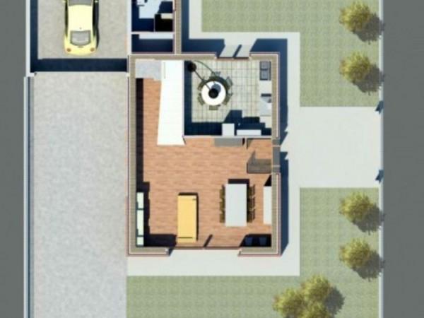 Villa in vendita a Borghetto Lodigiano, Nuova Zona Residenziale, Con giardino, 200 mq - Foto 17