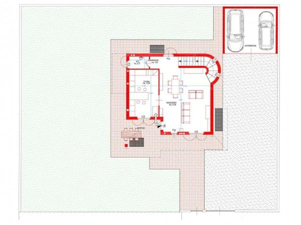 Villa in vendita a Cassano d'Adda, Naviglio, Con giardino, 250 mq - Foto 9