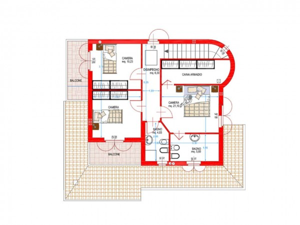 Villa in vendita a Cassano d'Adda, Naviglio, Con giardino, 250 mq - Foto 8