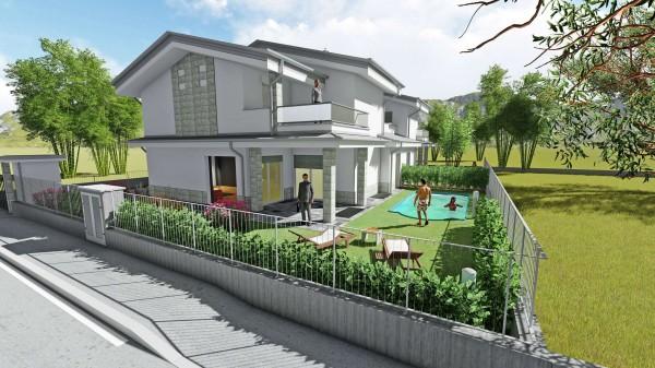Villa in vendita a Fara Gera d'Adda, Via Istria, Con giardino, 205 mq