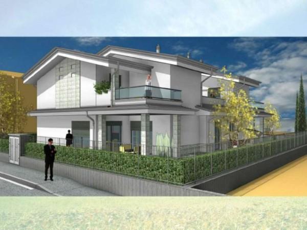 Villa in vendita a Cassano d'Adda, Via Istria Fara, Con giardino, 205 mq