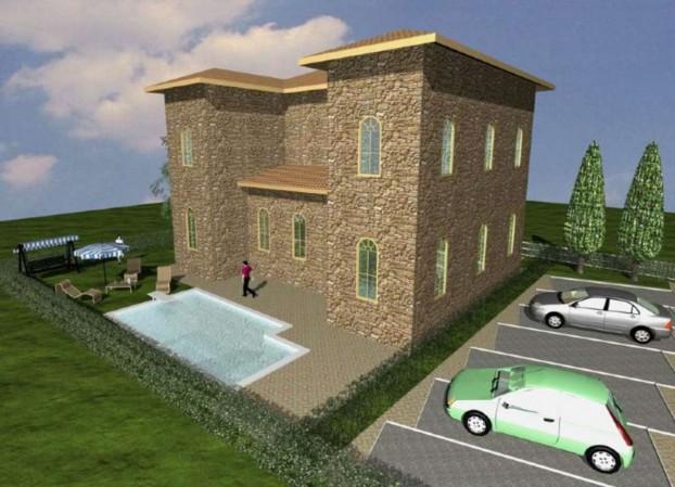 Rustico/Casale in vendita a Cannara, 450 mq