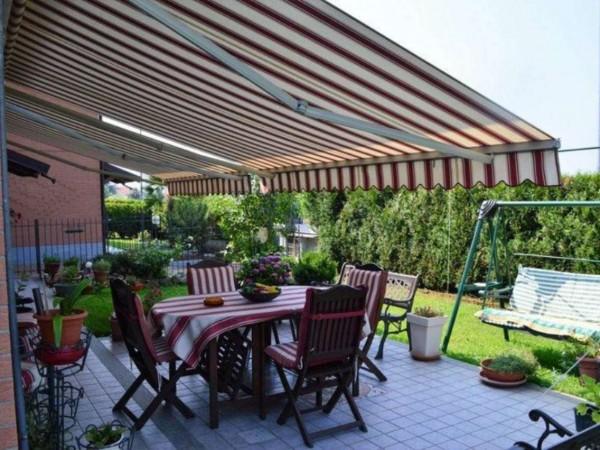 Appartamento in vendita a San Maurizio Canavese, Arredato, con giardino, 118 mq