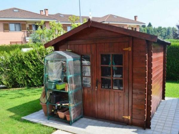 Appartamento in vendita a San Maurizio Canavese, Arredato, con giardino, 118 mq - Foto 4