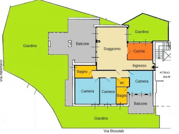 Appartamento in affitto a Milano, Maggiolina, 130 mq - Foto 25