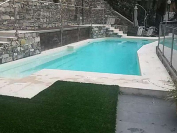 Appartamento in vendita a Rapallo, Cornice Di Sant'ambrogio, Con giardino, 150 mq - Foto 27