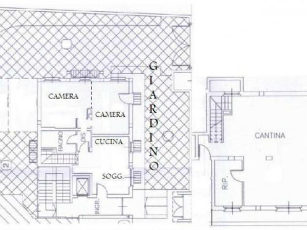 Appartamento in vendita a Desio, Con giardino, 134 mq - Foto 5