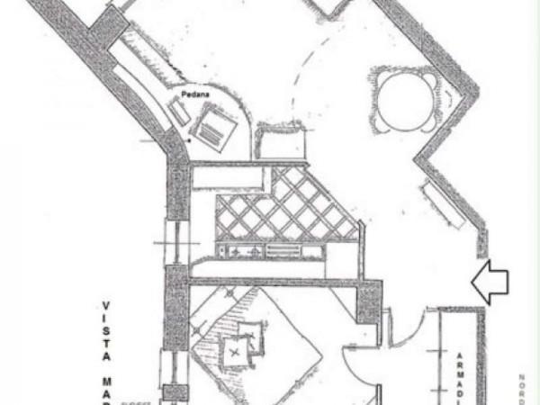Appartamento in vendita a Rapallo, Punta Seglio, Arredato, con giardino, 77 mq - Foto 10