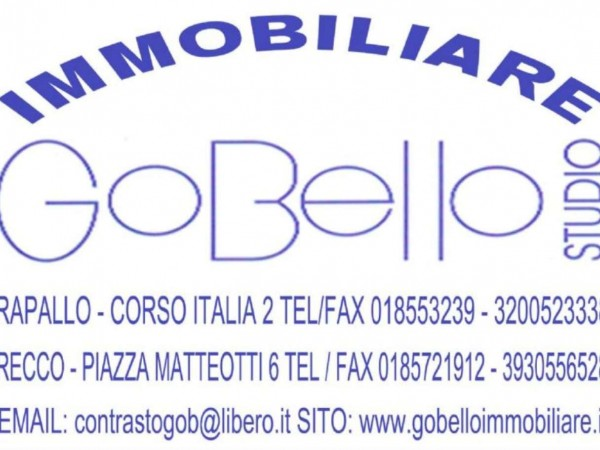 Appartamento in vendita a Rapallo, Punta Seglio, Arredato, con giardino, 77 mq - Foto 9
