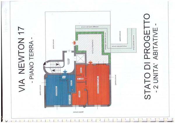 Appartamento in vendita a Milano, Piazza Esquilino, Con giardino, 54 mq - Foto 2