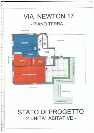 Appartamento in vendita a Milano, Piazza Esquilino, Con giardino, 54 mq - Foto 3