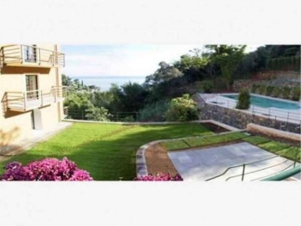 Appartamento in vendita a Zoagli, Con giardino, 120 mq - Foto 4