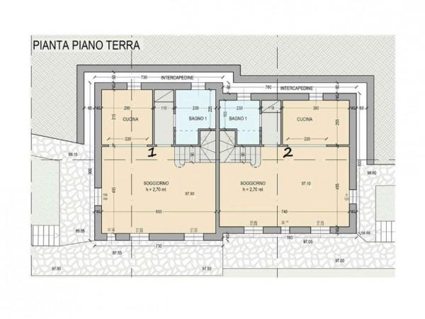 Villa in vendita a Rapallo, Arredato, con giardino, 250 mq - Foto 3