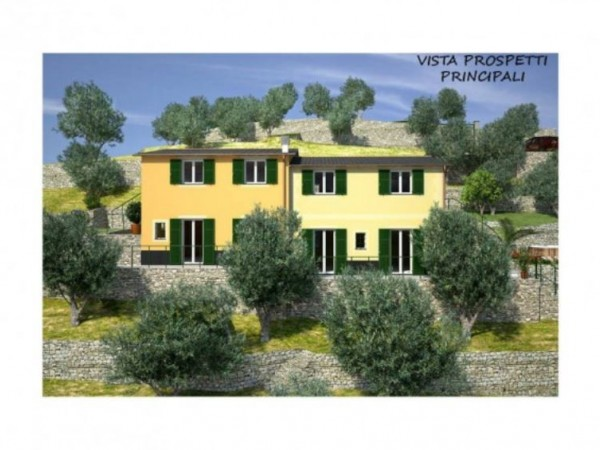Villa in vendita a Rapallo, Arredato, con giardino, 250 mq - Foto 9