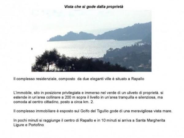 Villa in vendita a Rapallo, Arredato, con giardino, 250 mq - Foto 13