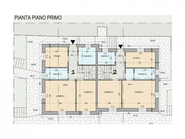 Villa in vendita a Rapallo, Arredato, con giardino, 250 mq - Foto 2