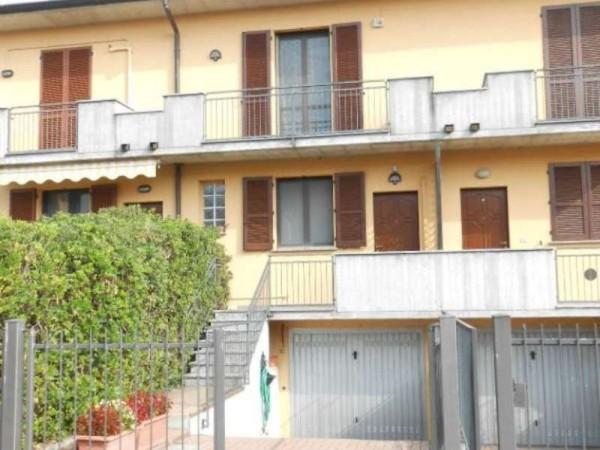Villetta a schiera in vendita a Boffalora d'Adda, Residenziale, Con giardino, 165 mq