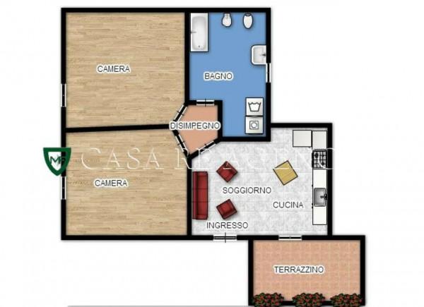 Appartamento in vendita a Varese, Biumo Inferiore, Con giardino, 85 mq - Foto 2