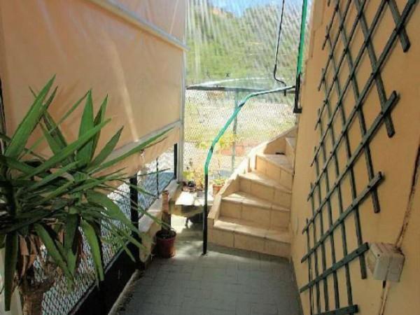 Casa indipendente in vendita a Uscio, Con giardino, 120 mq - Foto 10