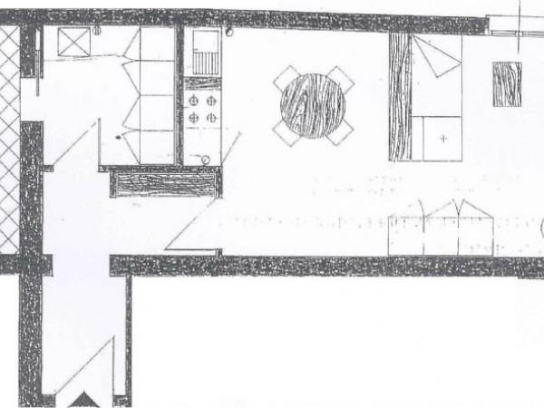 Appartamento in vendita a Cesena, Centro Storico, 45 mq