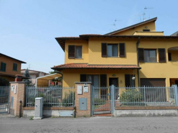 Villa in vendita a Monte Cremasco, Residenziale, Con giardino, 188 mq - Foto 3