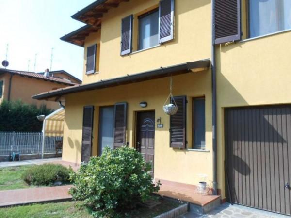 Villa in vendita a Monte Cremasco, Residenziale, Con giardino, 188 mq - Foto 2
