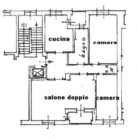 Appartamento in vendita a Torino, Rebaudengo, Con giardino, 120 mq - Foto 2