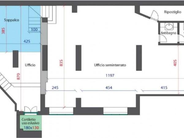 Ufficio in vendita a Milano, Paolo Sarpi, 160 mq