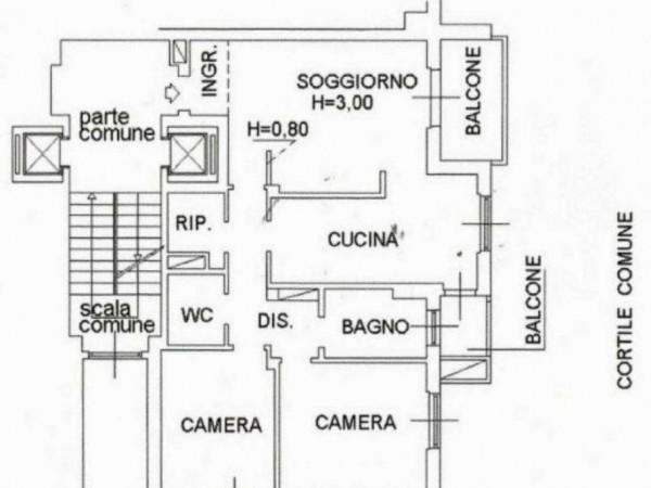 Appartamento in vendita a Corsico, Copernico, Con giardino, 105 mq - Foto 2