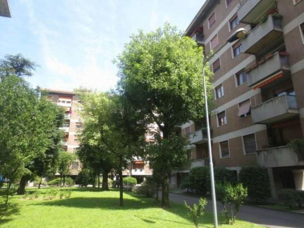Appartamento in vendita a Milano, Piazza Ovidio, Con giardino, 130 mq - Foto 6