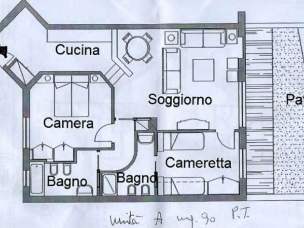 Villa in vendita a Barlassina, Golf Barlassina, 90 mq - Foto 15