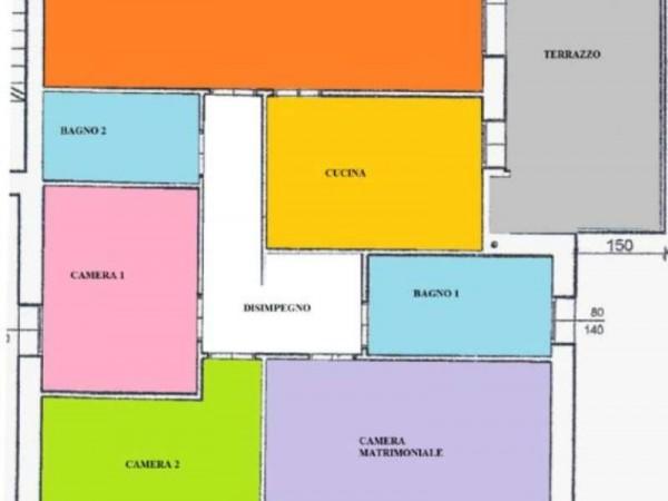Appartamento in vendita a Albignasego, Ferri, Con giardino, 100 mq