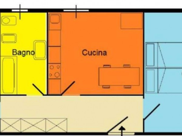 Appartamento in affitto a Milano, Monte Nero / Rotonda Besana, 58 mq - Foto 12